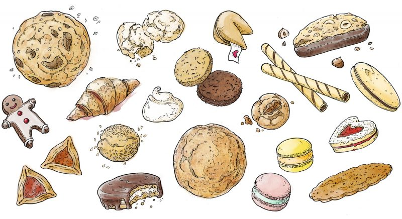 Cookie Spread Header